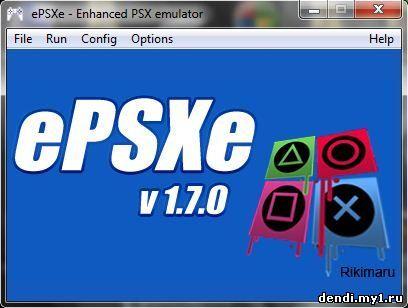 Epsxe_v1. 7. 3 полностью настроенный и готовый к работе сони.